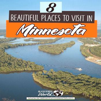 8 Beautiful Places to Visit in Minnesota, USA From seeing Split Rock Lighthouse State Park to swimm