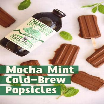 Chameleon Cold-BrewMocha Mint Cold Brew Popsicles Chameleon Cold-BrewMocha Mint Cold Brew Popsicles
