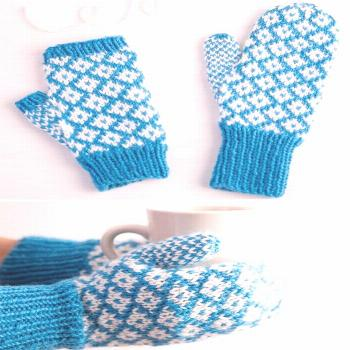 Colorful Mittens and Gloves Knitting Patterns,  Colorful Mittens and Gloves Knitting Patterns,