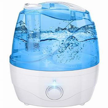Cool Mist Humidifier, 2.2L Humidifiers with Blue Night