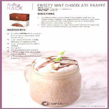 Frosty Mint Chocolate Frappe' | Optavia Recipes | Pinterest ... - Frosty Mint Chocolate Frappe' |