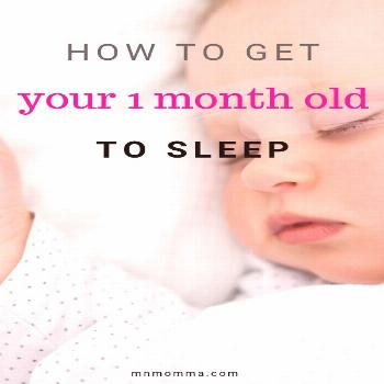 How to Get Your Baby to Sleep (Baby Sleep Tips from Newborn to 6 Months) - Minnesota Momma - How to