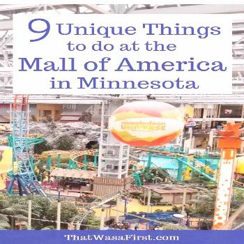 Mall of America - 9 First Experiences For the Whole Family The Mall of America in Minnesota is so m
