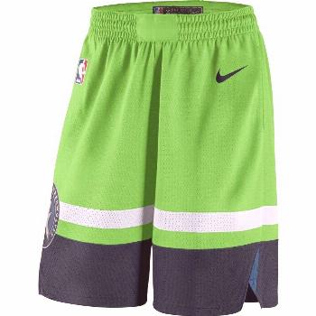 Men's Minnesota Timberwolves Green Statement Edition Swingman Shorts  The Effective Pictures We Off
