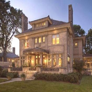 Minneapolis, Minnesota  Arts and Crafts Mansion: Exterior HGTV Front door..Nicol... -  Minneapolis,