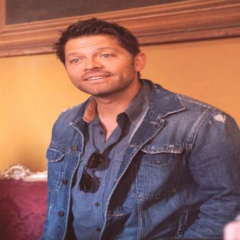 Misha Collins sightings in Rome@Impala2Y5