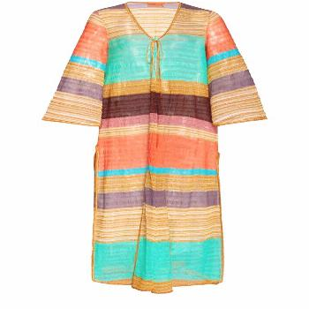 Missoni Mare Striped Knitted Robe ,