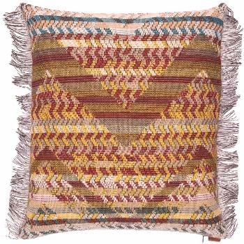 Missoni SMALL YANNOULIS WOOL BLEND PILLOW ,