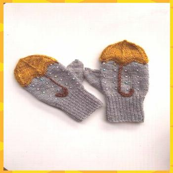 Mittens pattern to make you feel wooly this fall. Ravelry: Nattergal & ... knitted ideas for girls