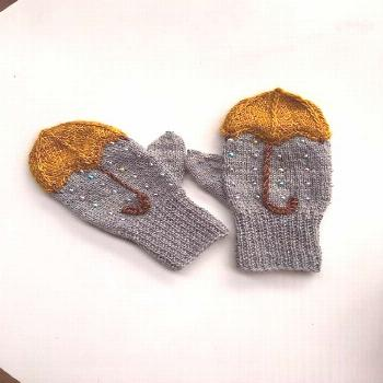Mittens pattern to make you feel wooly this fall. Ravelry: Nattergal & ... knitted ideas Mittens pa