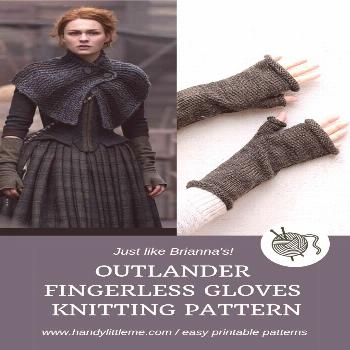 Outlander knits - Fingerless gloves knitting pattern free - Make a pair of fingerless mittens... Ou