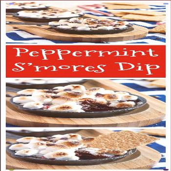 Peppermint S'mores Dip