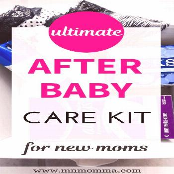 Postpartum Care Kit for New Moms. This after baby care kit has all the postpartum essentials you'll