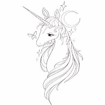 Remove tattoo cream?   I have this more movie inspired the last unicorn design that Id absolutely l