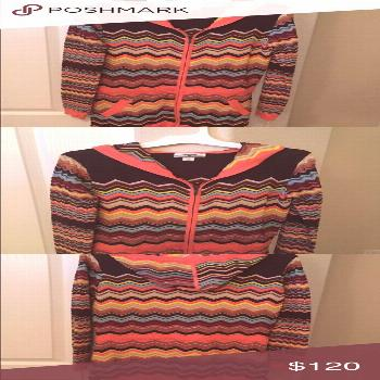 Spotted while shopping on Poshmark: Missoni limited edition long cardigan with hoodie! for Target