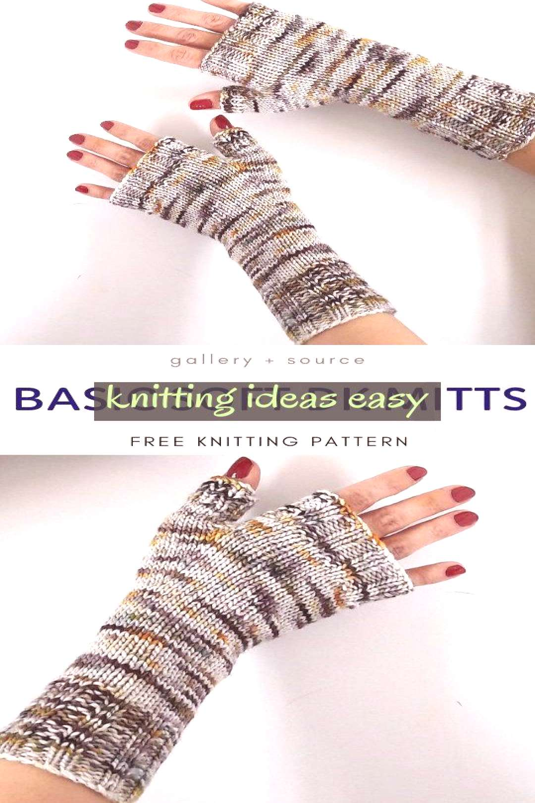 Basic Soft Dk Mitts Free Knitting Pattern This Colors Imply & basic soft dk mitts free strickmuster