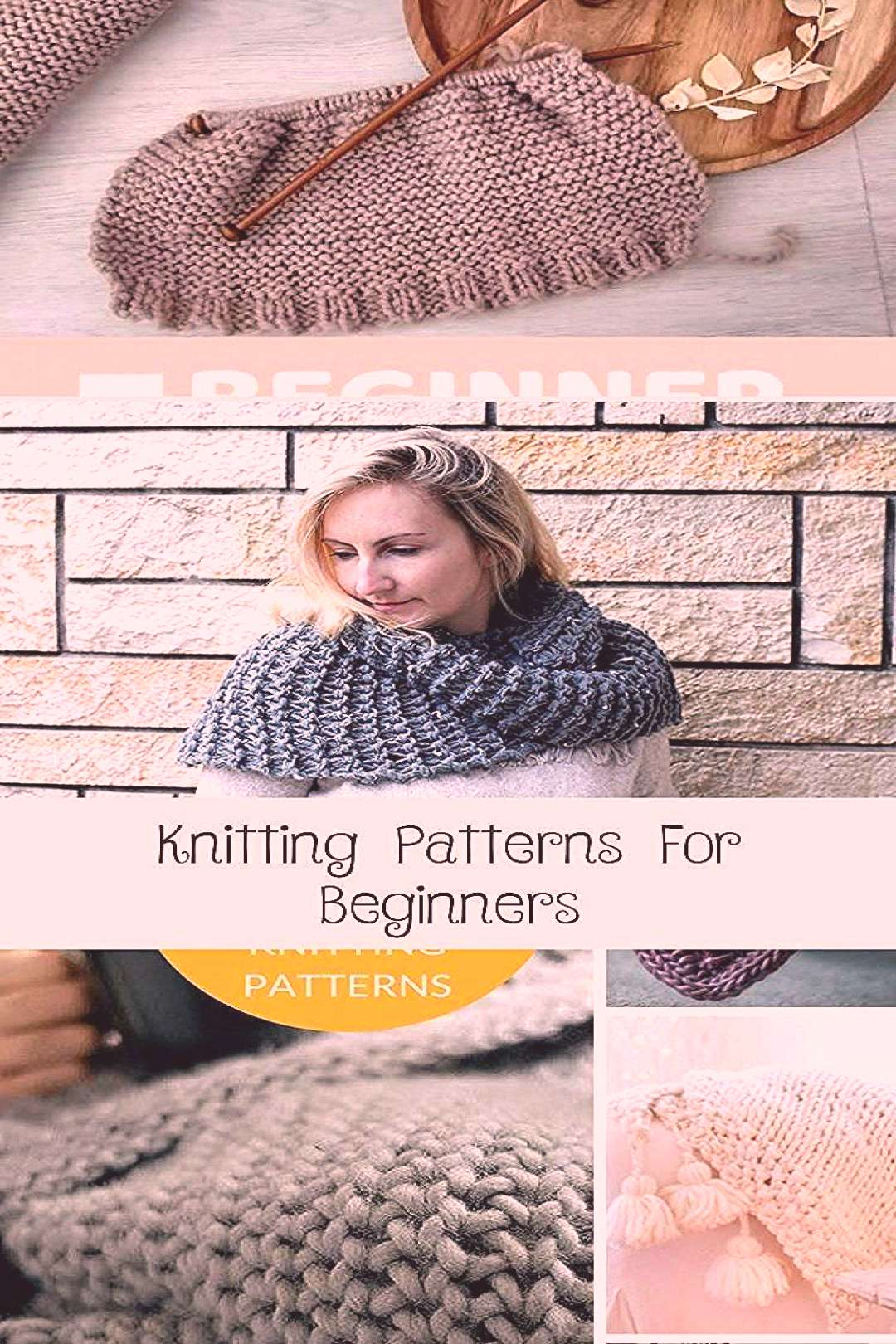 Easy knitting patterns for beginners - including fingerless mittens, scarves and | simple knitting