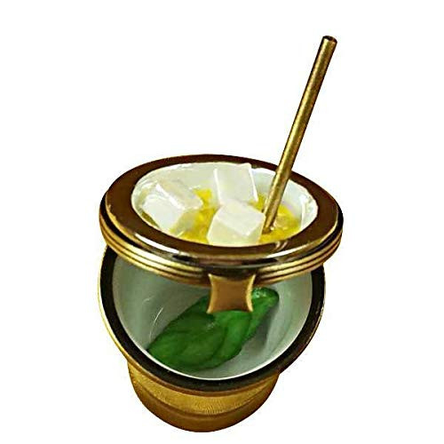 Limoges Mint Julep Glass - Authentic Limoges Boxes - French