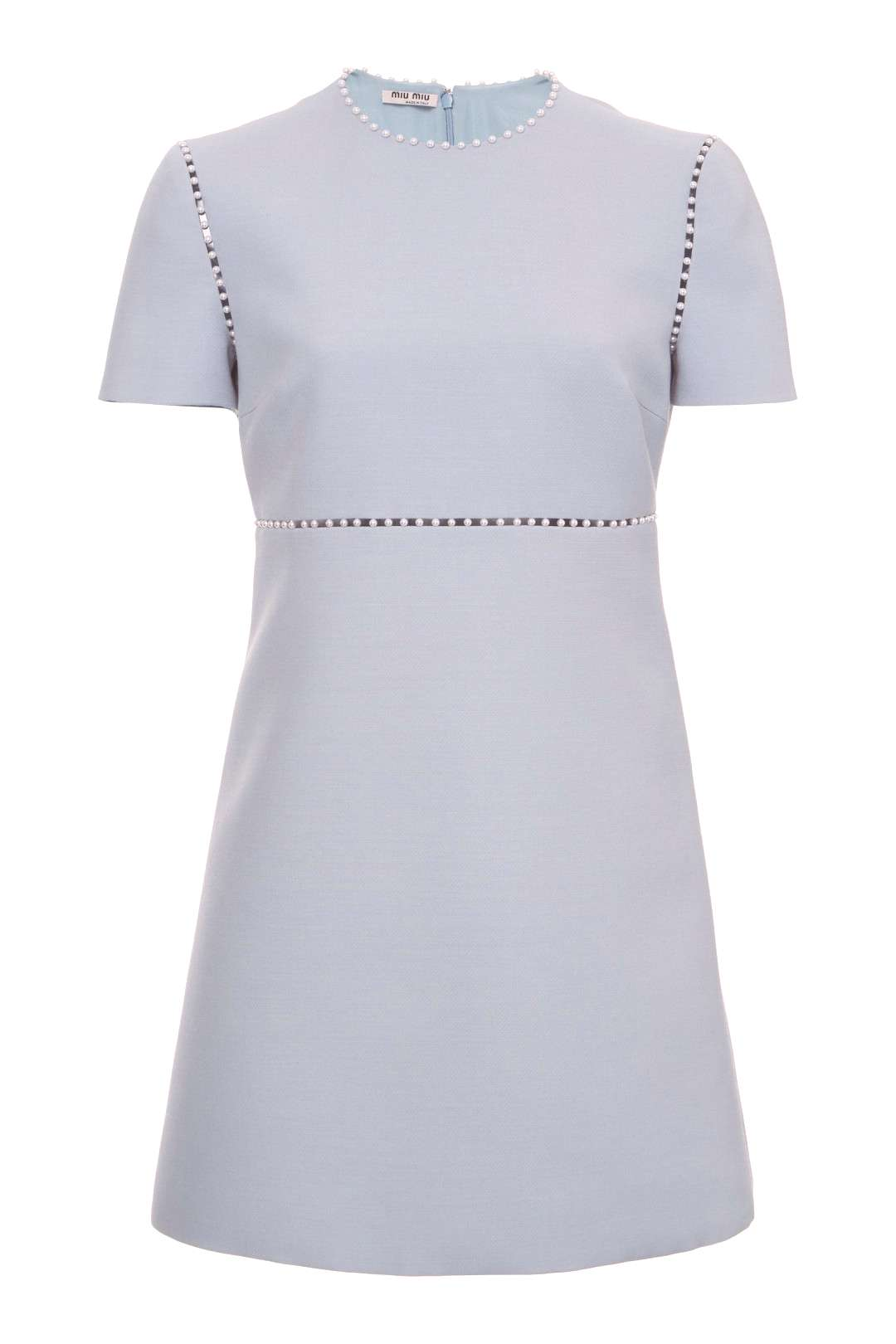 MIU MIU - dress - Pearl Embellished Mini Dress