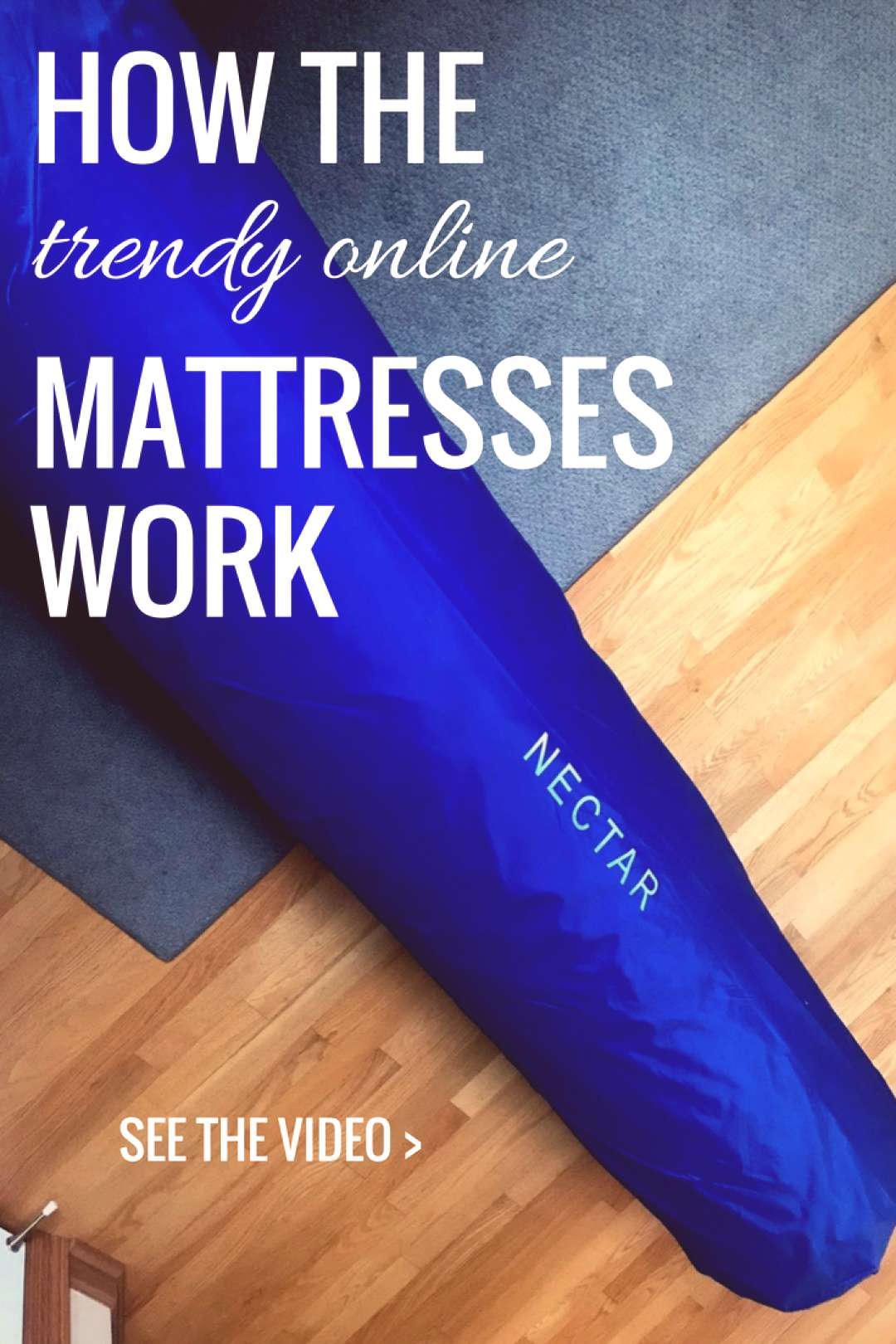 NECTAR Mattress Unboxing & Review - Real Housewives of Minnesota - -