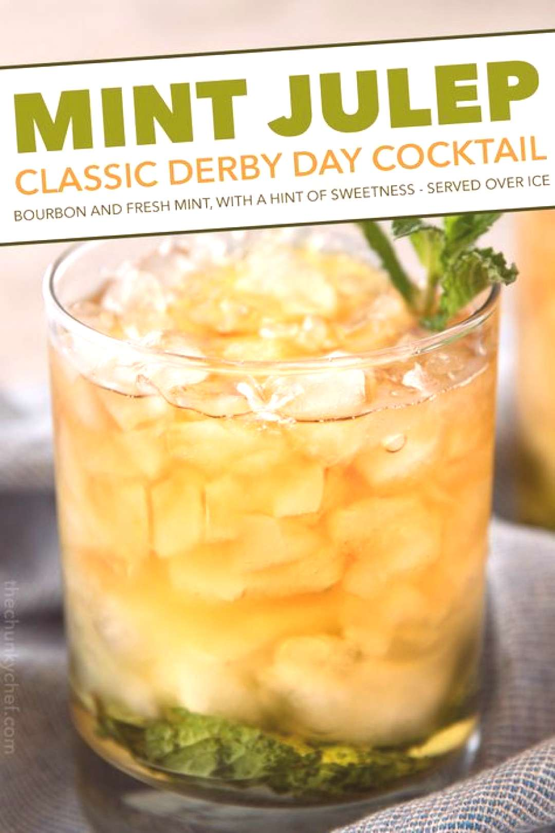 This Southern mint julep recipe is pretty close to the iconic Derby Day cocktail made with simple s
