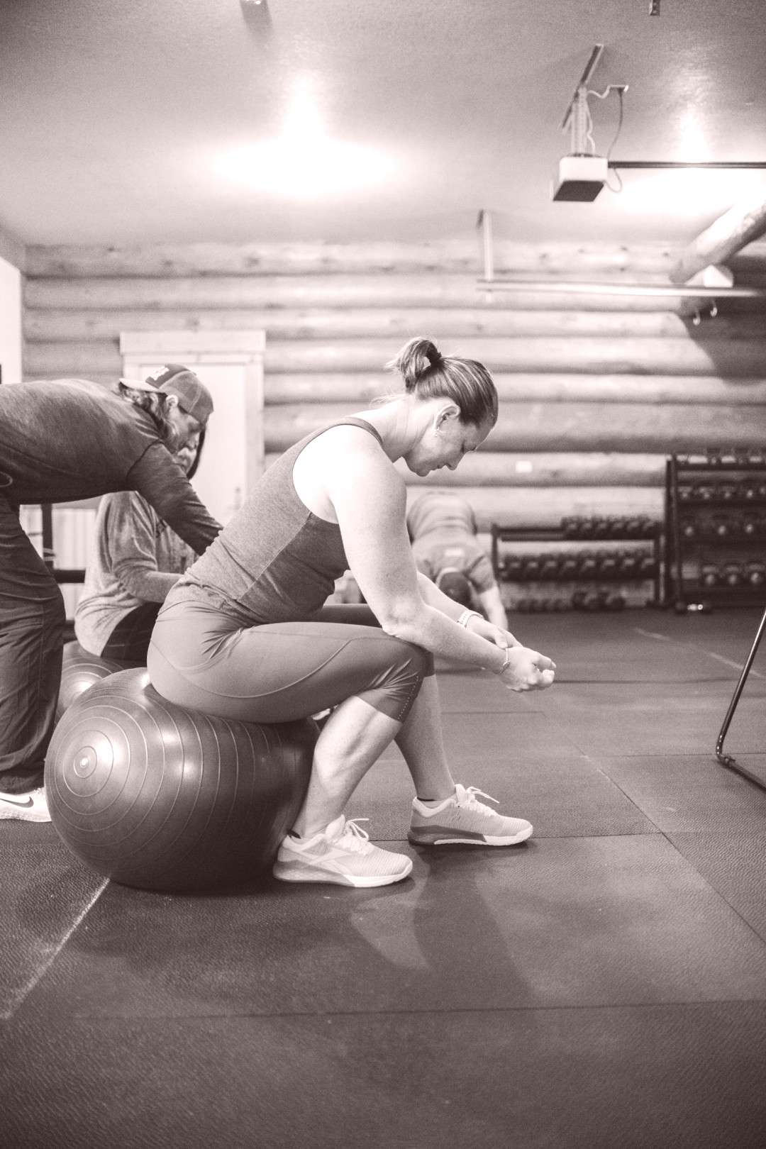 Workout with Trainers  Workout at the Point Retreats with Trainers ready to help you and answer you